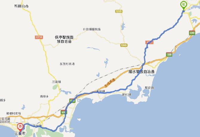 环海南岛东线- 美骑网|Biketo.com